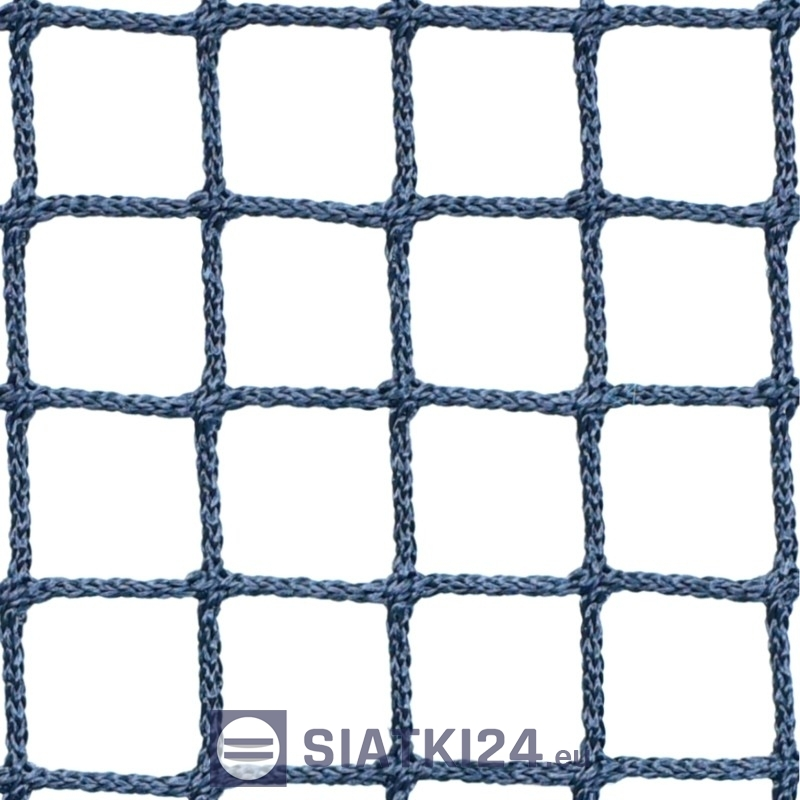 Siatka polietylenowa do zabezpieczająca i ochrony - siatka na kontenery - 2 x 2 / 2