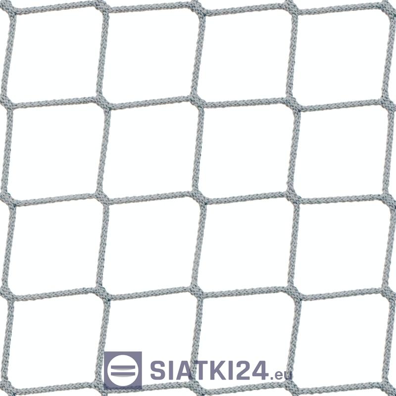 Siatka polipropylenowa na piłkochwyty boiska, hale i sale - 4,5 x 4,5 / 3