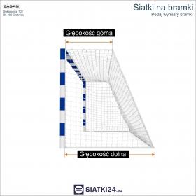 SIATKI NARCIARSKIE - Siatka na stok narciarski - 4 mm / 4,5 x 4,5 cm
