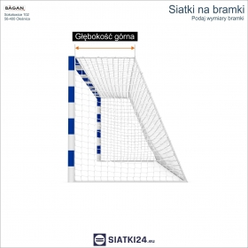 SIATKI NARCIARSKIE - Siatka na stok narciarski - 5 mm / 4,5 x 4,5 cm