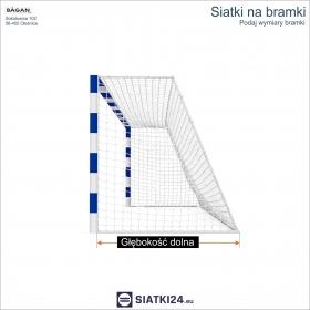 SIATKI NARCIARSKIE - Siatka na stok narciarski - 2 mm / 2 x 2 cm