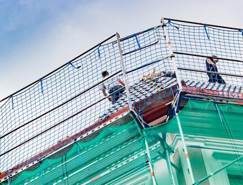 Siatki budowlane - siatki do zabezpieczeń budowlanych